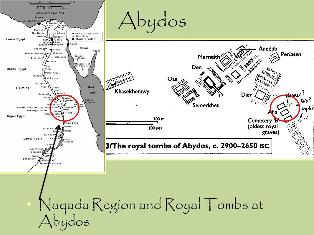 Abydos Naqada Region and Royal Tombs at Abydos