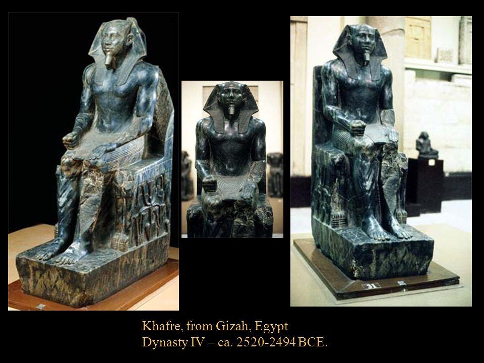 Khafre, from Gizah, Egypt