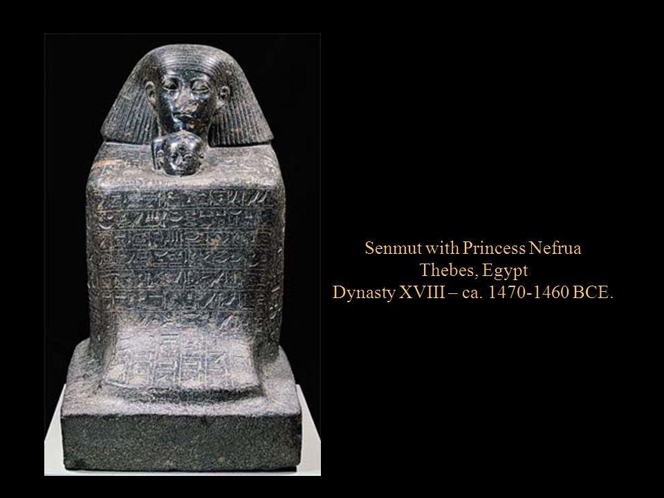 Senmut with Princess Nefrua