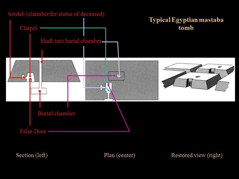 Typical Egyptian mastaba