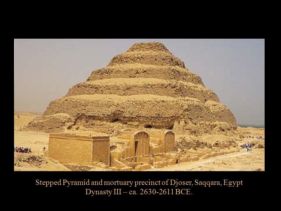 Stepped Pyramid and mortuary precinct of Djoser, Saqqara, Egypt