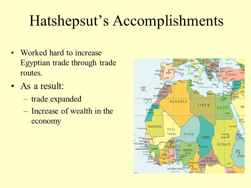 Hatshepsut's Accomplishments
