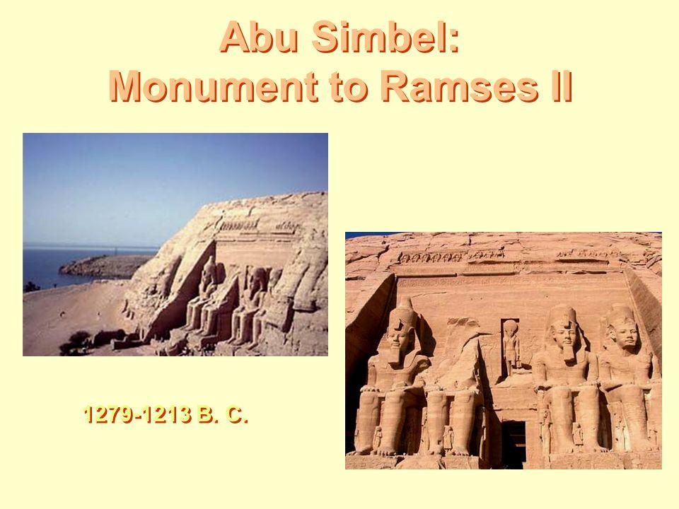 Abu Simbel: Monument to Ramses II