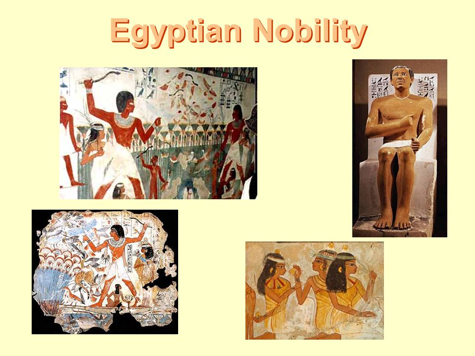 Egyptian Nobility