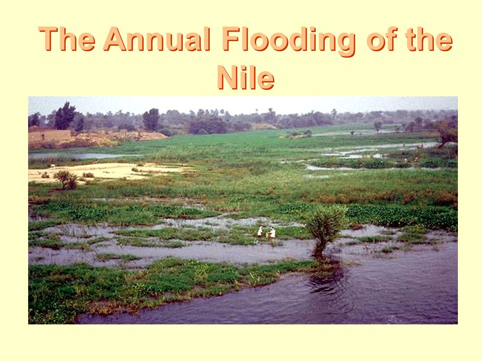 The Annual Flooding of the Nile