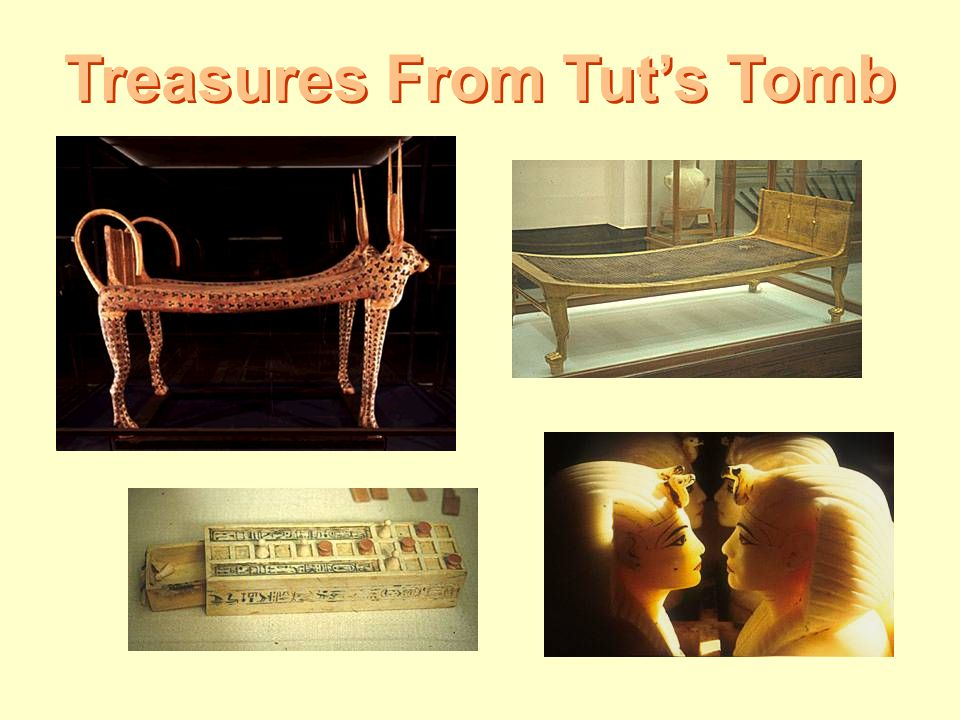 Treasures From Tut's Tomb