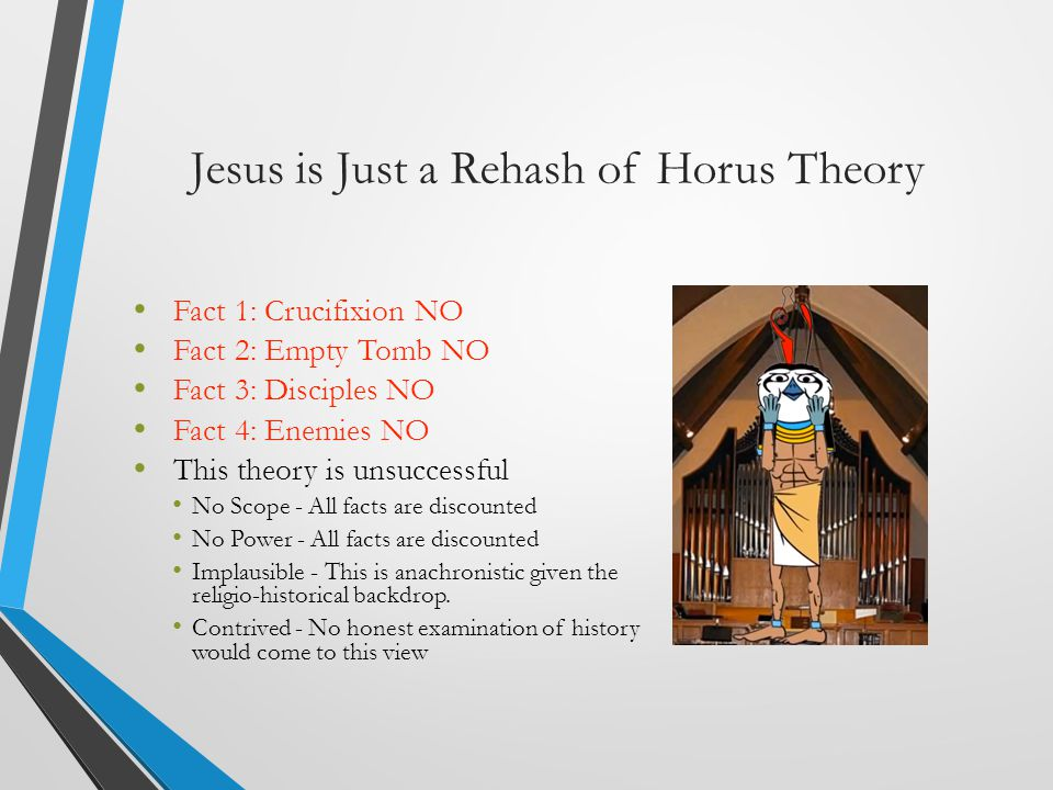 Jesus is Just a Rehash of Horus Theory
