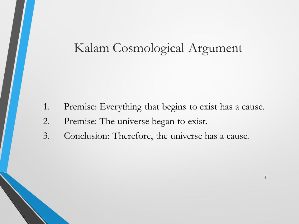 Kalam Cosmological Argument