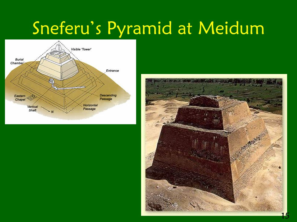 Sneferu's Pyramid at Meidum