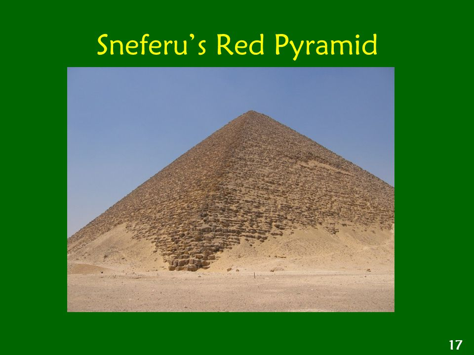 Sneferu's Red Pyramid 17