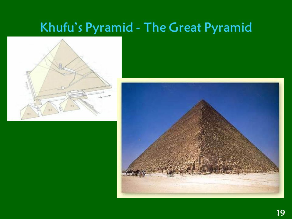 Khufu's Pyramid - The Great Pyramid