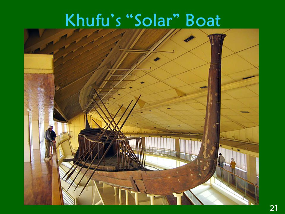 Khufu's Solar Boat 21