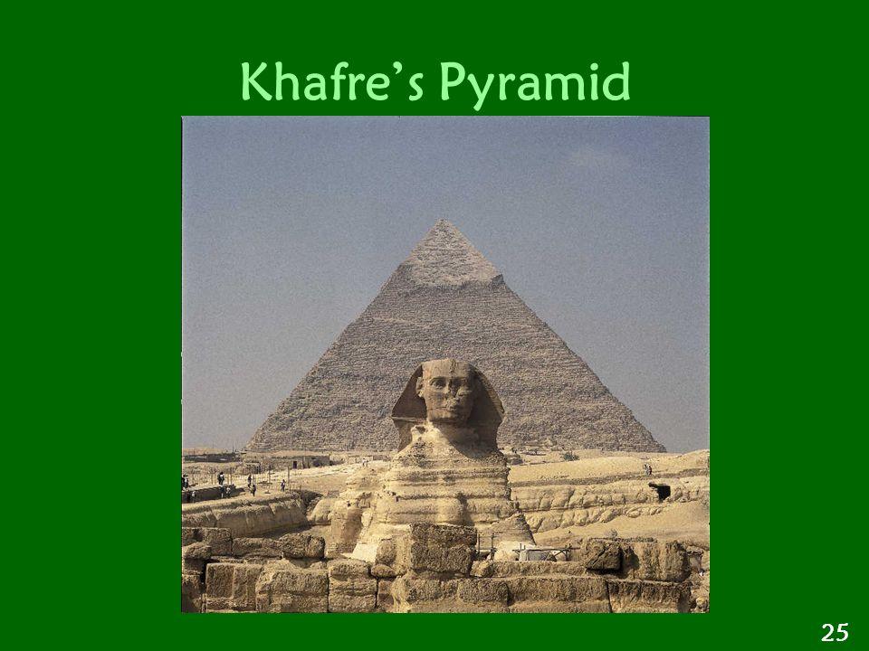 Khafre's Pyramid 25