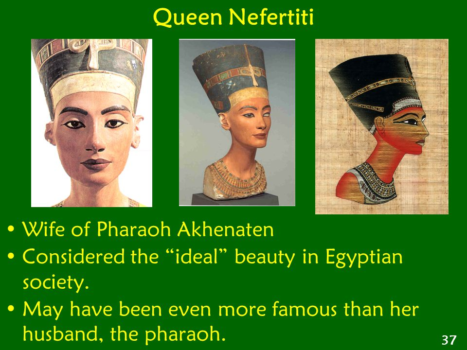 Queen Nefertiti Wife of Pharaoh Akhenaten