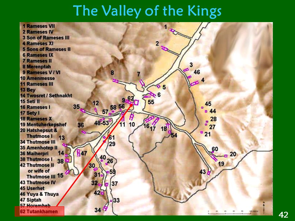The Valley of the Kings 42