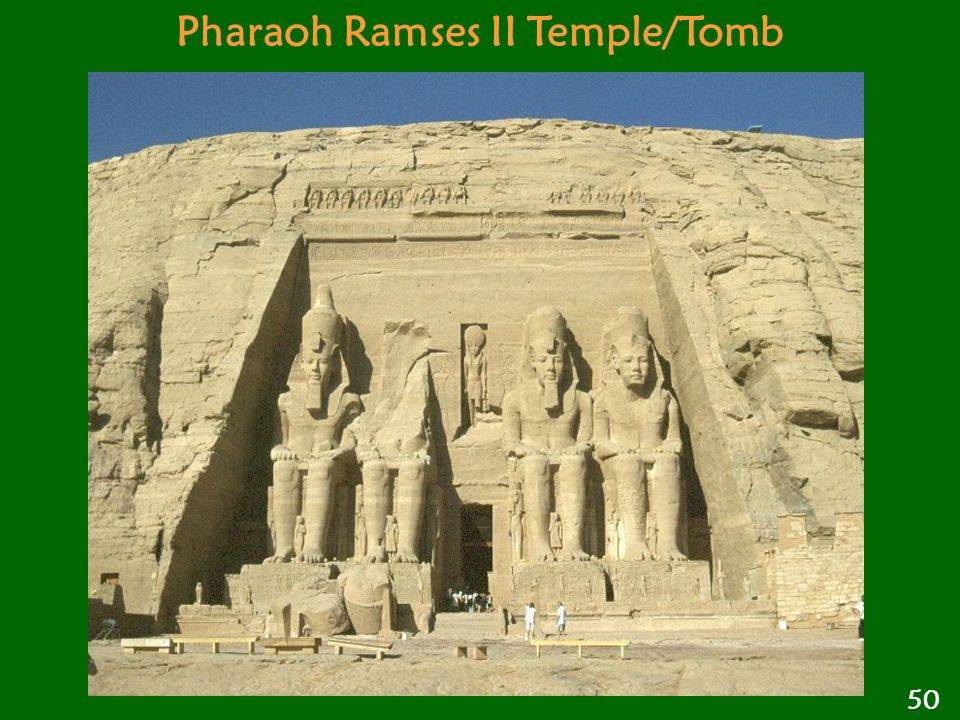 Pharaoh Ramses II Temple/Tomb