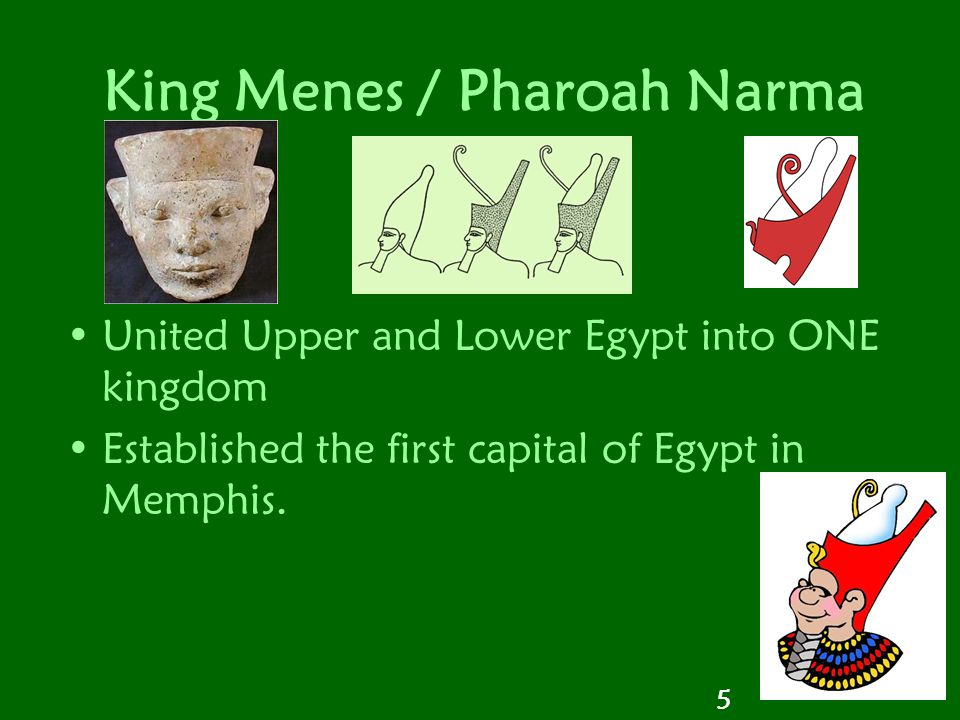 King Menes / Pharoah Narma