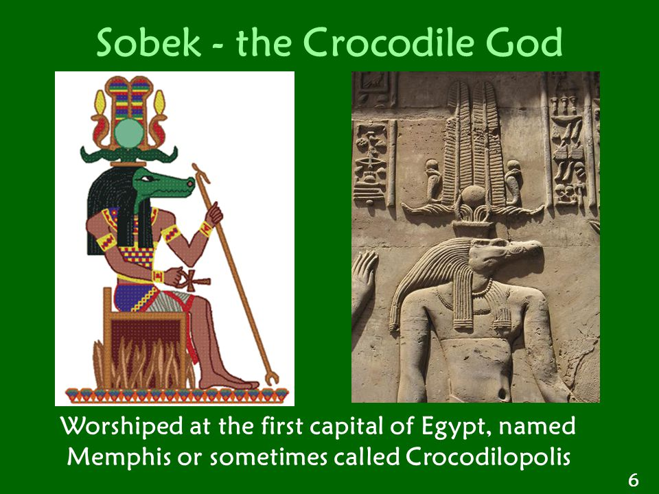 Sobek - the Crocodile God