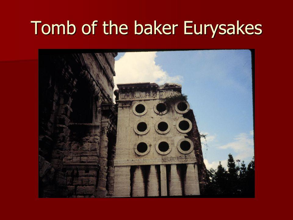 Tomb of the baker Eurysakes