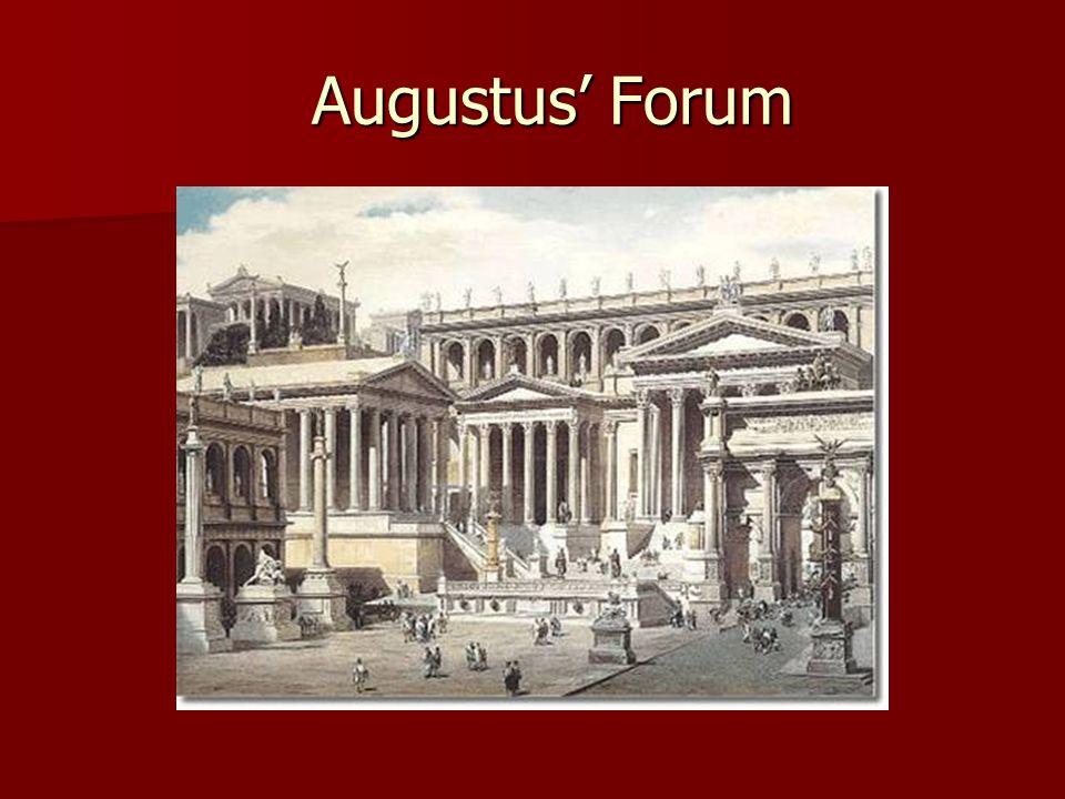 Augustus' Forum