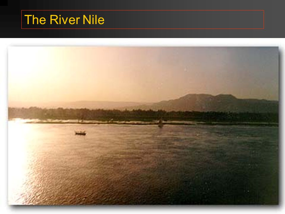 The River Nile http://touregypt.net/luxor/