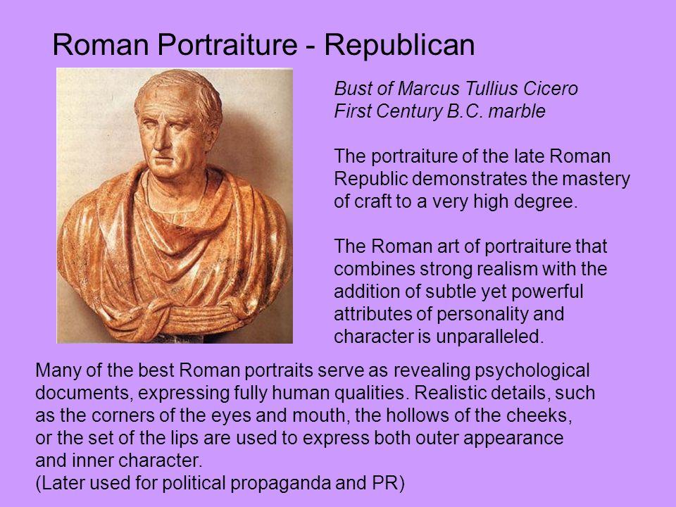 Roman Portraiture - Republican
