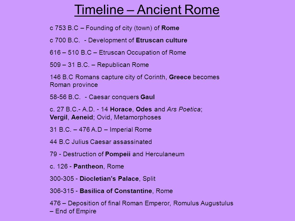 development of ancient rome Ancient roman trade is a subject of many facets particularly when we consider that ancient rome is difficult to define in terms of time and extension: a quick look at the development of the mediterranean wine trade gives great insight into some of the factors.