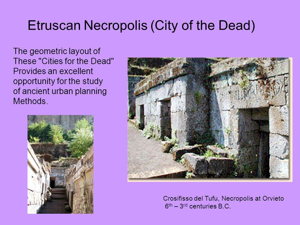 Etruscan Necropolis (City of the Dead)