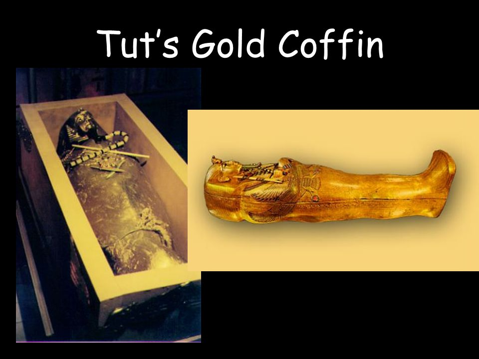 Tut's Gold Coffin