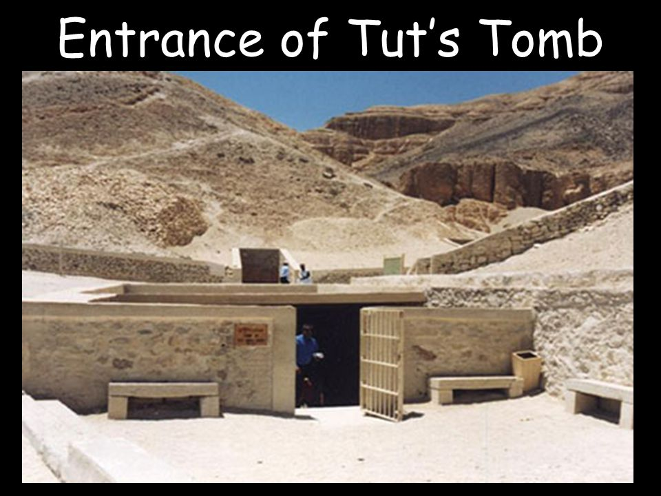 Entrance of Tut's Tomb