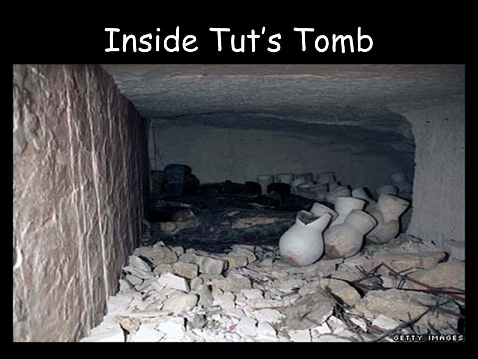 Inside Tut's Tomb
