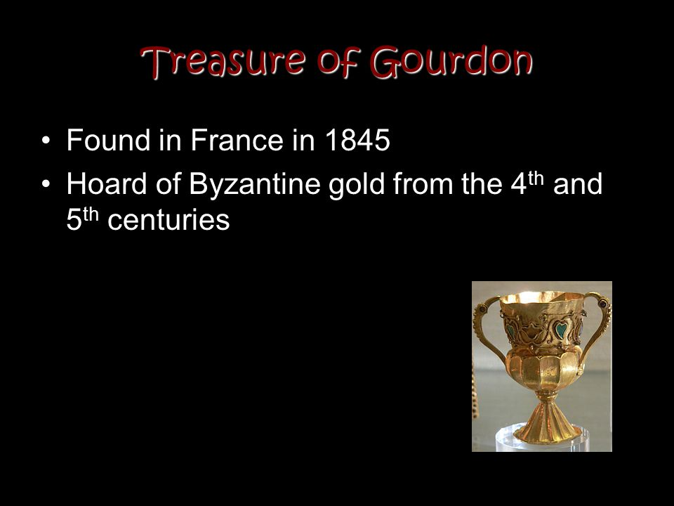 Treasure of Gourdon Found in France in 1845