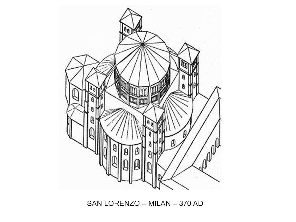 SAN LORENZO – MILAN – 370 AD