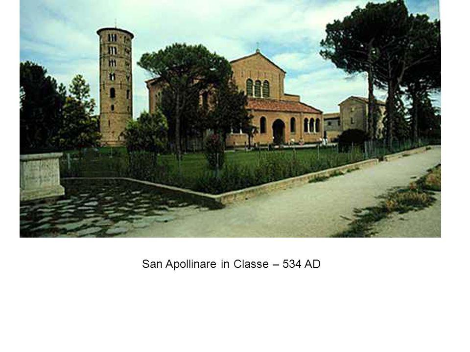 San Apollinare in Classe – 534 AD