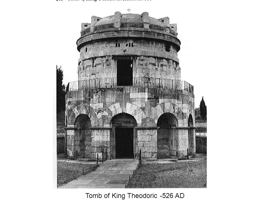 Tomb of King Theodoric -526 AD
