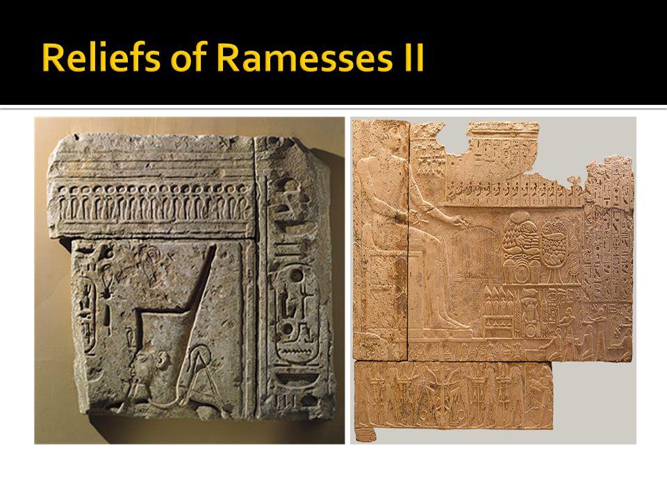 Reliefs of Ramesses II