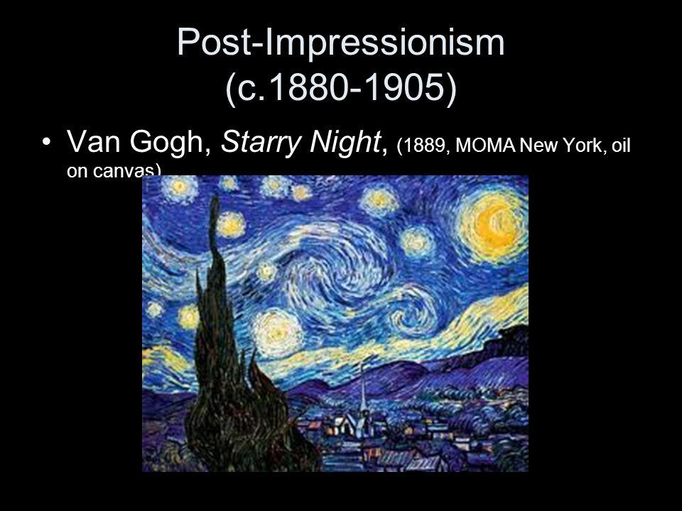 Post-Impressionism (c.1880-1905)