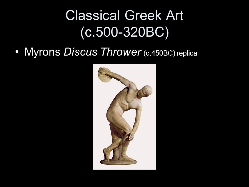 Classical Greek Art (c.500-320BC)