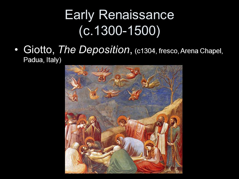 Early Renaissance (c.1300-1500)