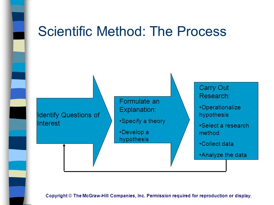 Scientific Method: The Process