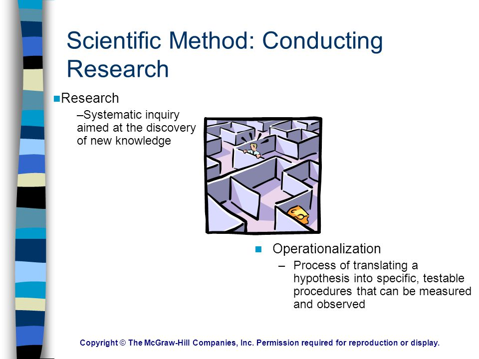 Scientific Method: Conducting Research