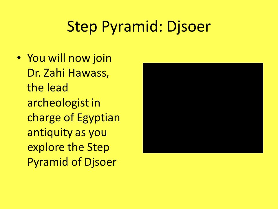 Step Pyramid: Djsoer