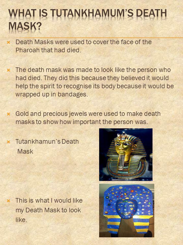 What is Tutankhamum's Death Mask
