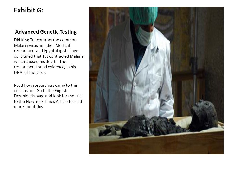 Exhibit G: Advanced Genetic Testing