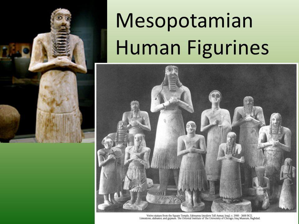 Mesopotamian Human Figurines