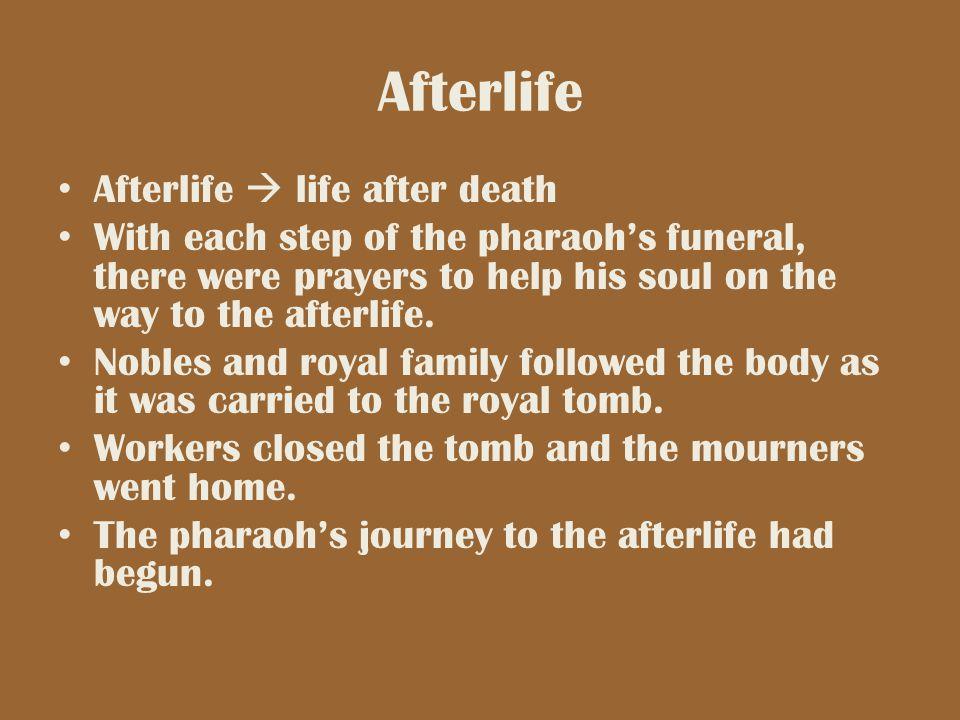 Afterlife Afterlife  life after death
