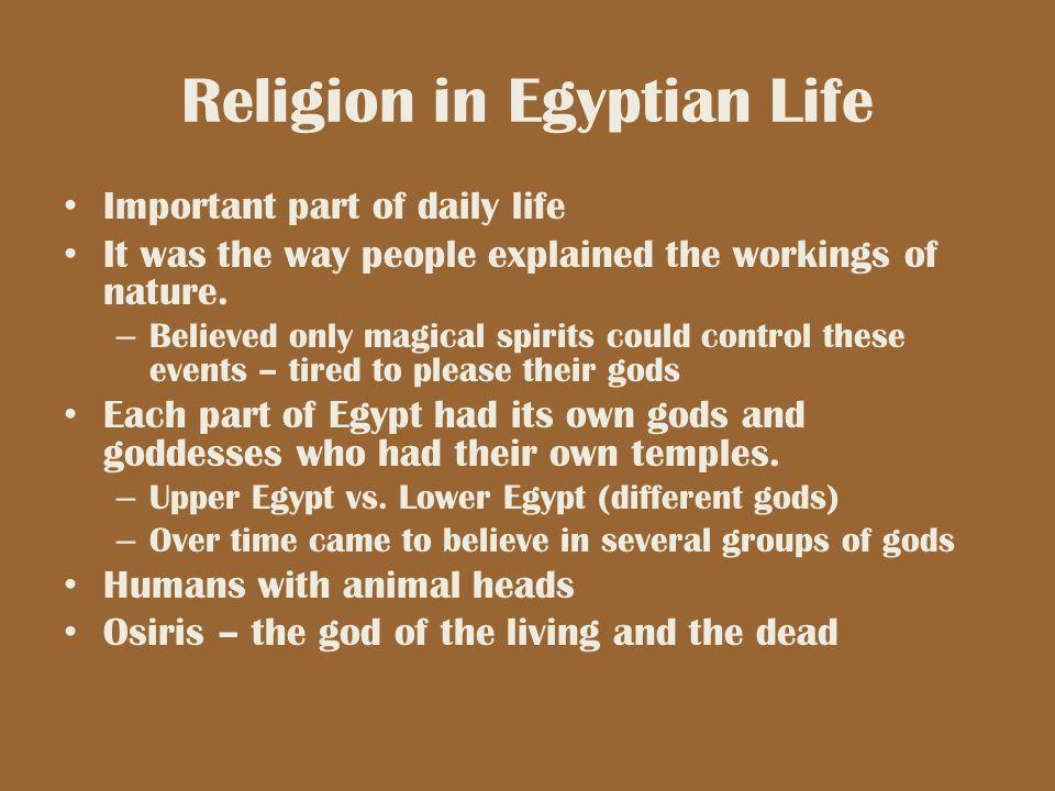 Religion in Egyptian Life