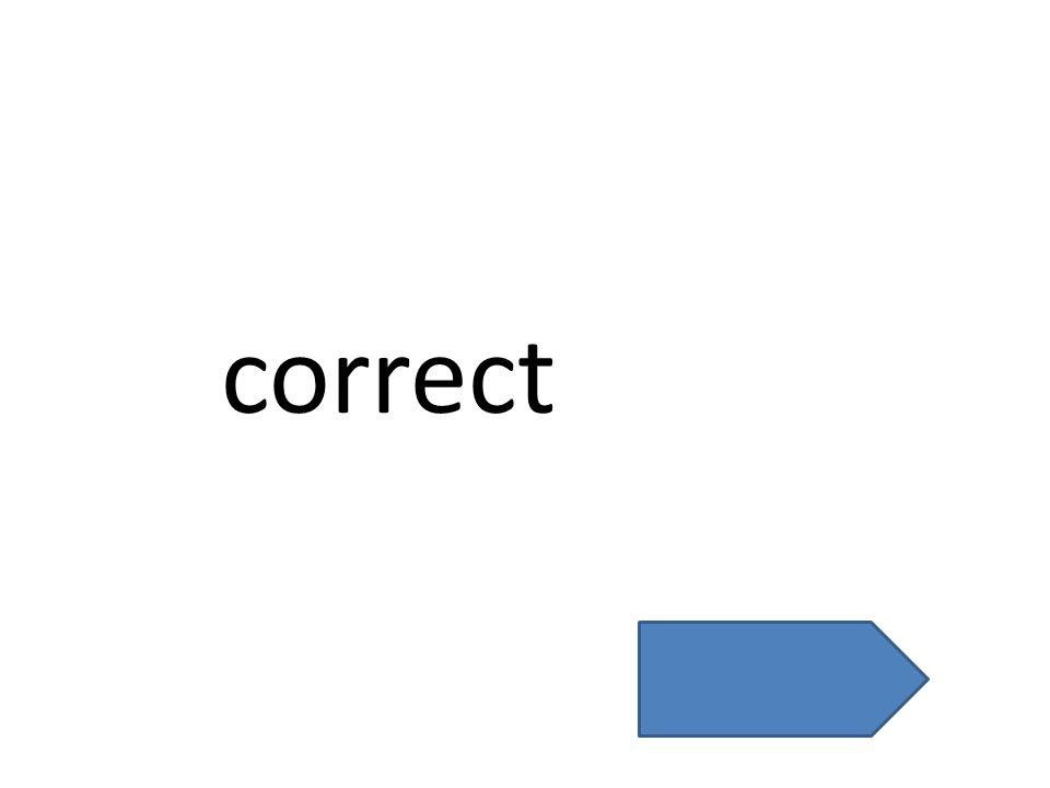 correct