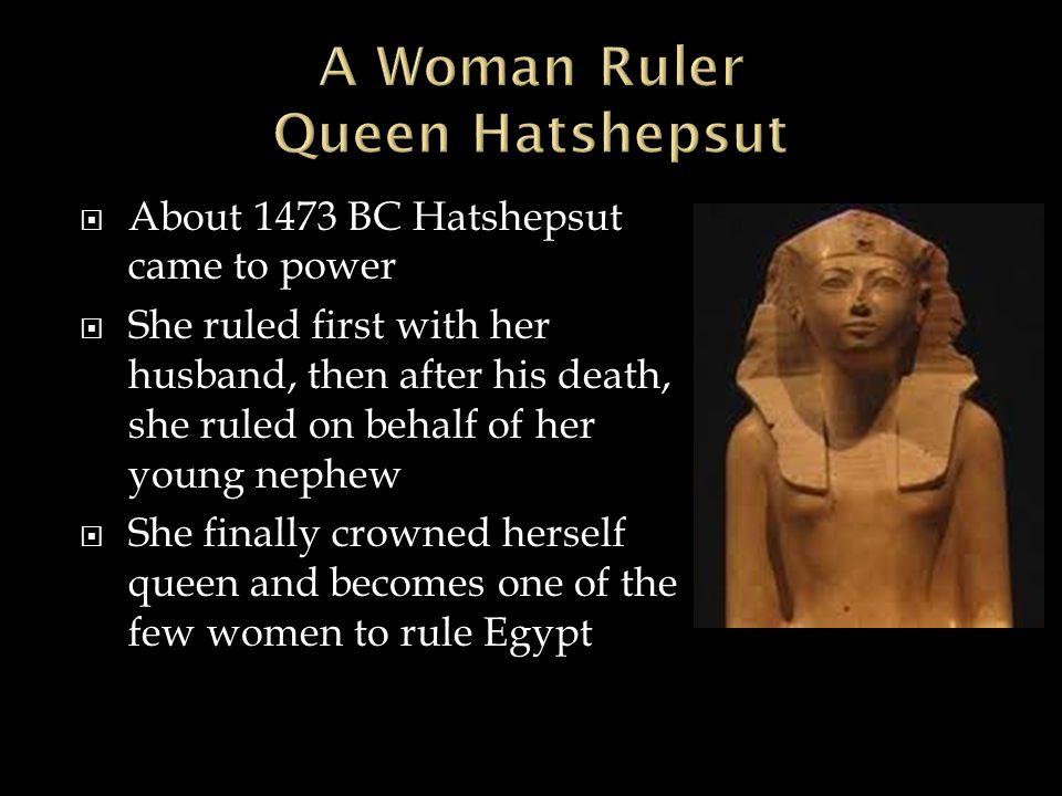 A Woman Ruler Queen Hatshepsut