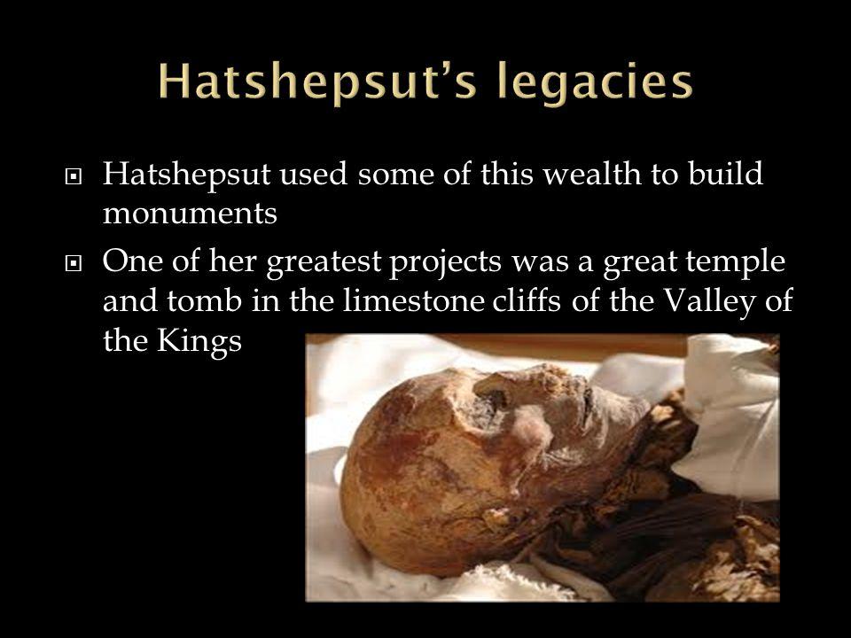 Hatshepsut's legacies